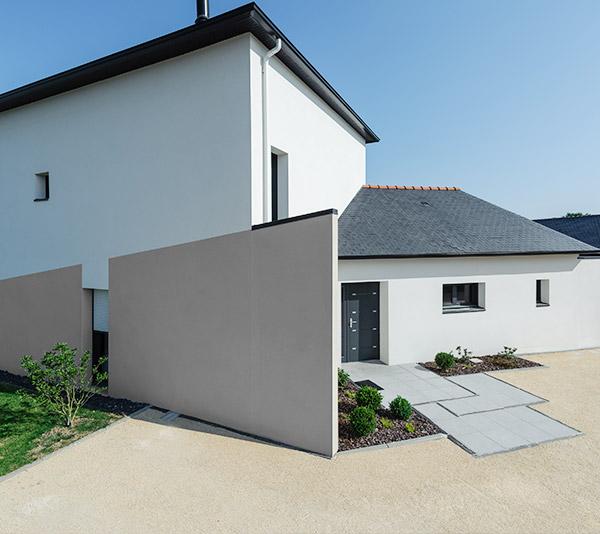 BBC & monomurs - Construction d'une maison labelisée BBC-Effinergie - La Chapelle-sur-Erdre - Archidesigner Associés