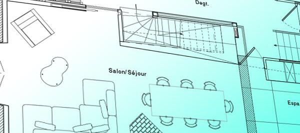 Plan d'architecte - ArchiDesigner Associés - Architecture & Design - Expertises et services